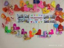 Виставка валентинок до Дня Закоханих